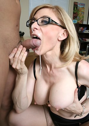 Milf facial pictures