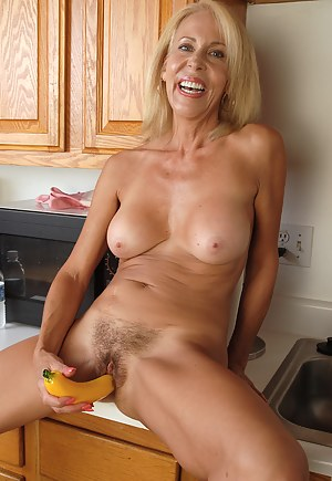 Milf with sex toys