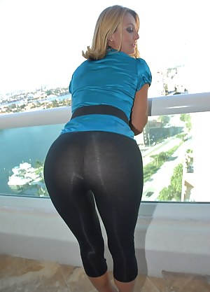 Milf In Yoga Shorts