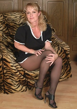 Hot milf in uniform