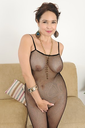 Milf In Fishnet