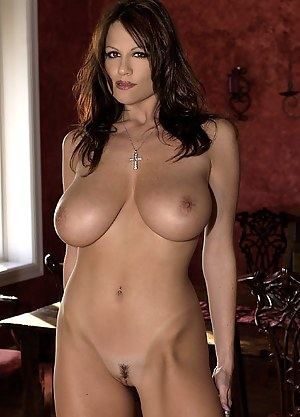 Dana white brunette big tits model